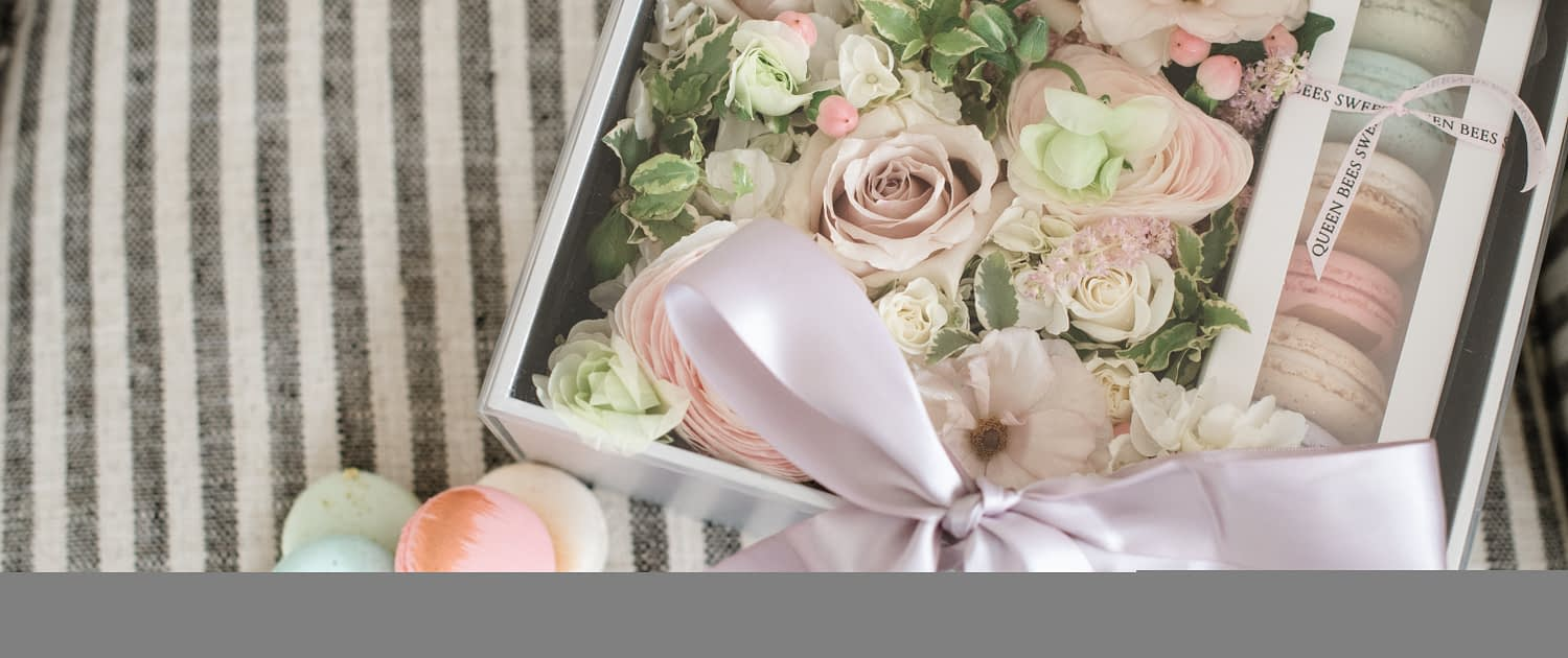 Mother's Day 2021 Collection with macarons